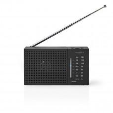 Nedis kapesní radiopřijímač AM/FM 1.5 W, černá