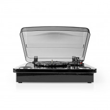 Nedis gramofon 18 W, Bluetooth, USB, černá