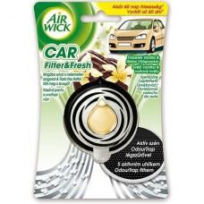 Vůně do auta Airwick Car Svěží vanilka a voňavé květy 3ml