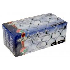 Vánoční světelná síť 240x LED bílá, vnitřní i venkovní použití, 230V, rozměr 2.5 x 1 m