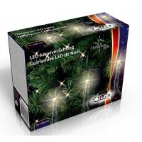 Vánoční venkovní světelný řetěz 80x LED dioda teplá bílá, 230V, délka 11,4 m