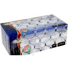 Vánoční světelná síť 160x LED bílá, vnitřní i venkovní použití, 230V, rozměr 1.5 x 1 m