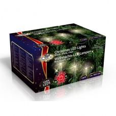 Vánoční vnitřní světelný řetěz 120x LED dioda teplá bílá, 230V, délka 11.1 m