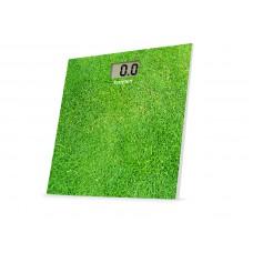 Beper 40810 digitální skleněná osobní váha do 150 kg, zelená - tráva