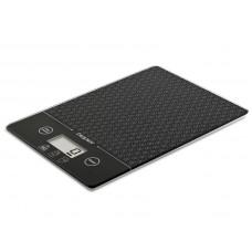 Beper 90123N elektronická skleněná kuchyňská váha Diana, černá, do 5kg