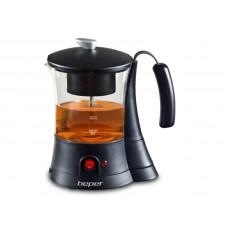 Beper 90836 elektrická skleněná konvice na čaj, 700 ml, 600 W