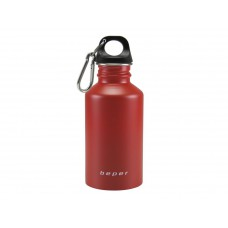 BEPER lahev na vodu nerez 0,5 l červená