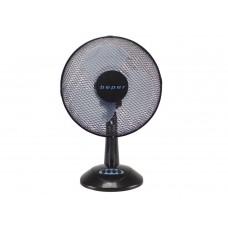 BEPER stolní ventilátor 30cm, 3 rychosti a oscilace, 30W