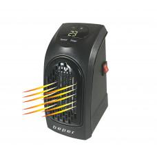 BEPER RI-201 přenosné keramické cestovní topení do zásuvky s časovačem, 350W