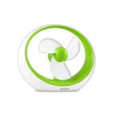BEPER VE400V stolní USB ventilátor do USB, zelený