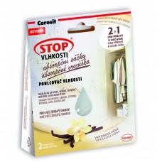 Ceresit STOP VLHKOSTI absorpční sáčky komfortní vanilka (2x50g)