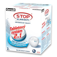 Ceresit STOP VLHKOSTI PEARL náhradní tablety 2v1 (2x300g)