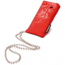 Coverized DECO malá brašna na MP3 / MP4, červená