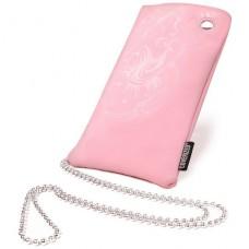 Coverized DECO velká brašna na MP3 / MP4 / PDA / mobilní telefon, růžová