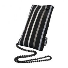 Coverized TAILOR pouzdro na MP3 / PDA / mobilní telefon / digitální fotoaparát, černá, široké pruhy