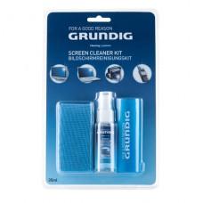 Grundig 33996 čistící set na obrazovky (gel 20ml, utěrka z mikrovlákna 20x20cm a štěteček na nečistoty)