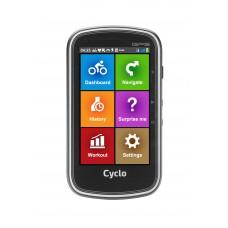 """Cyklonavigace MIO 405  s barevným displejem 4.0"""" (bezdrátový přenos ANT+)"""
