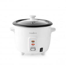 Nedis KARC06WT rýžovar 300 Wattů, 0.6 l, bílá