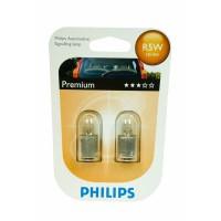 Autožárovka R5W 12V 5W 12821B2 Philips (2 kusy)