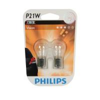 Autožárovka P21W 12V 21W 12498B2 Philips (2 kusy)