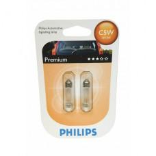 Autožárovka C5W 12V 5W 12844B2 Philips (2 kusy)