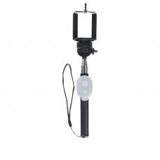 Polaroid 99100 teleskopická selfie tyč 100cm s bluetooth tlačíkem - černá
