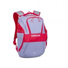 """Riva Case 5225 spotovní batoh pro notebook 15.6"""", šedočervený, 20l"""