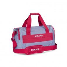 Riva Case 5235 cestovní a sportovní taška objem 30l,  šedočervená