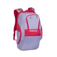 """Riva Case 5265 spotovní batoh pro notebook 17.3"""", šedočervený, 30l"""