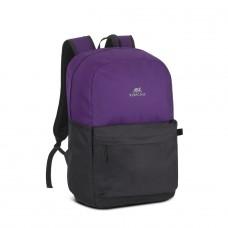 """Riva Case 5560 batoh 20L na notebook 15.6"""", fialová / černá"""