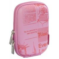 Riva Case 7103 pouzdro na fotoaparát, růžové Newspaper