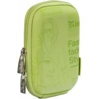 Riva Case 7103 pouzdro na fotoaparát, zelené Newspaper