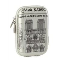 Riva Case 7103 pouzdro na fotoaparát, stříbrné Notre Dame