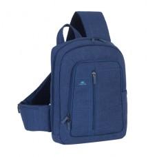 """Riva Case 7529 stylový batoh s jedním popruhem 13.3"""", modrý"""
