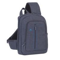 """Riva Case 7529 stylový batoh s jedním popruhem 13.3"""", šedý"""
