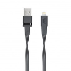Riva 6001 BK1 Mfi Apple Lightning kabel 1,2m, černý