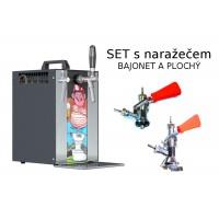 Výčepní zařízení Sinop MK20 PIVRNEC set s narážecí hlavou BAJONET a PLOCHÝ
