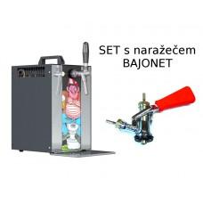 Výčepní zařízení Sinop MK20 PIVRNEC set s narážecí hlavou BAJONET