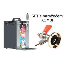 Výčepní zařízení Sinop MK20 PIVRNEC set s narážecí hlavou KOMBI