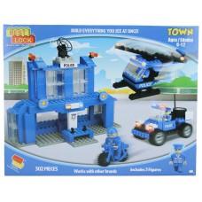 Stavebnice Best Lock Town (hasičská stanice nebo policejní stanice)