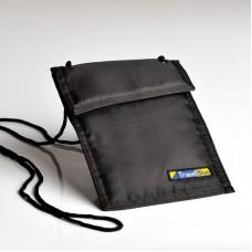 Bezpečnostní pouzdro/peněženka na krk TBU-121-B
