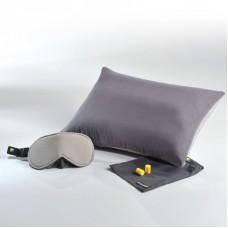 Cestovní set spací maska, špunty do uší a spací polštářek TBU-229