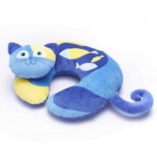 Travel Blue dětský cestovní krční polštářek a hračka - Kočička Kitty TBU282