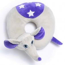 Travel Blue dětský cestovní krční polštářek a hračka - Slůně Flappy TBU283