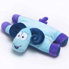 Travel Blue dětský cestovní polštářek a hračka - Beran Sammy TBU287