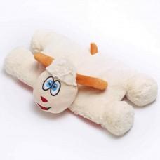Travel Blue dětský cestovní rozkládací polštářek a hračka - Ovečka Snowy TBU-290