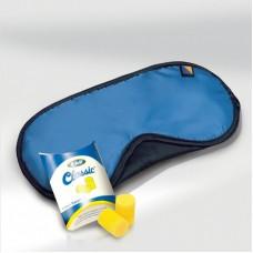 Cestovní set spací maska na oči a špunty do uší TBU-451