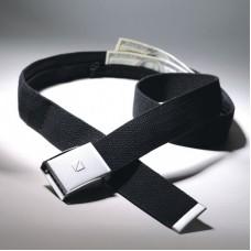 Cestovní opasek s bezpečnostní skrytou kapsou na peníze TB710 černý