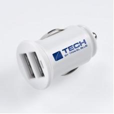 TECH USB autonabíječka 2xUSB 2100mA