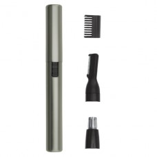Nosní a ušní zastřihovač na baterii WAHL Micro Lithium Satin Silver